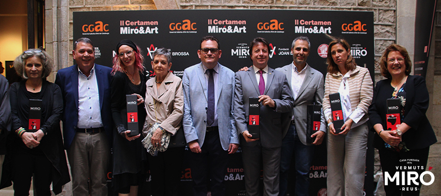 Vermuts Miró estrena la nueva etiqueta de la botella Miró&Art