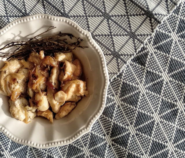 Pollo en escabeche de Vermut Miró