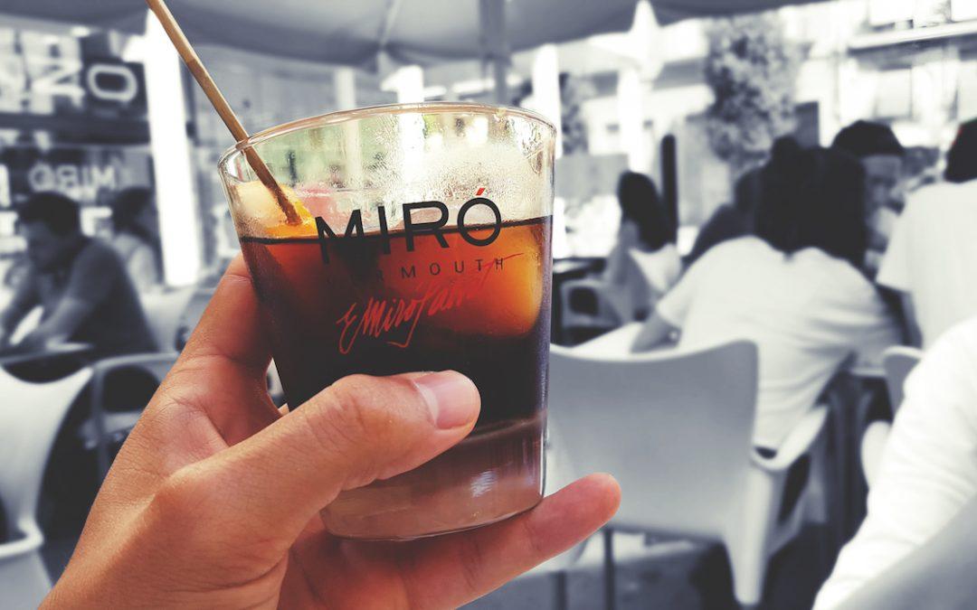 La hora del vermut Miró