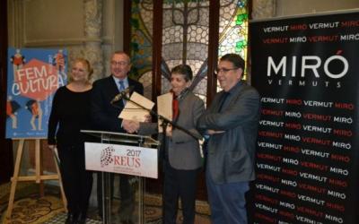 Vermuts Miró colabora como mecenas con la Capital de la Cultura Catalana Reus 2017