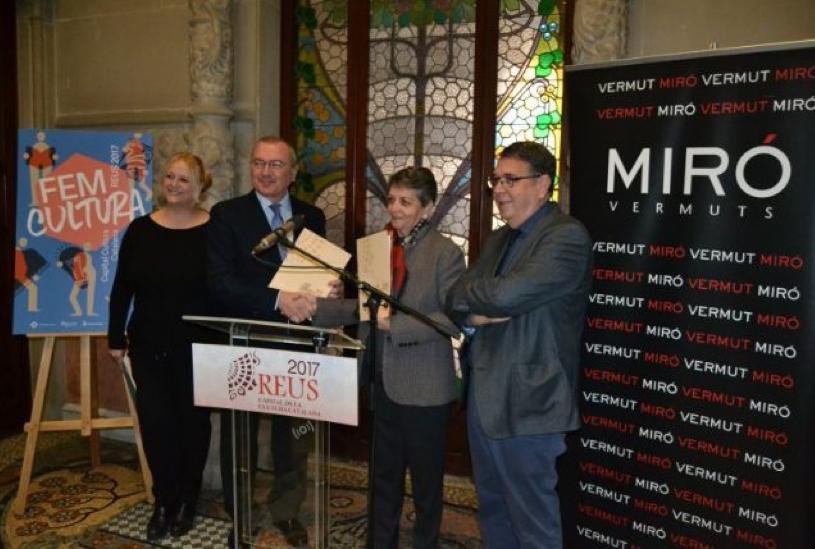 Vermuts Miró col·labora com a mecenes amb la Capital de la Cultura Catalana Reus 2017