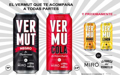 Vermuts Miró amplia la seva gamma amb nous productes enllaunats