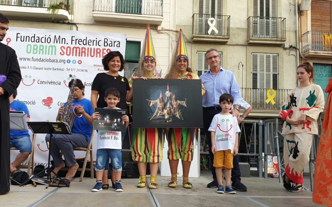 Colaboración Calendario Solidario Fundación Mn Frederic Bara i Cortiella