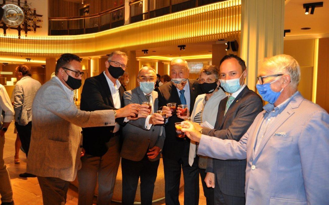 Vermut Miró present al Sopar Col·loqui de la Fundació Gresol amb el M.I. Sr. Xavier Espot Cap de Govern d'Andorra
