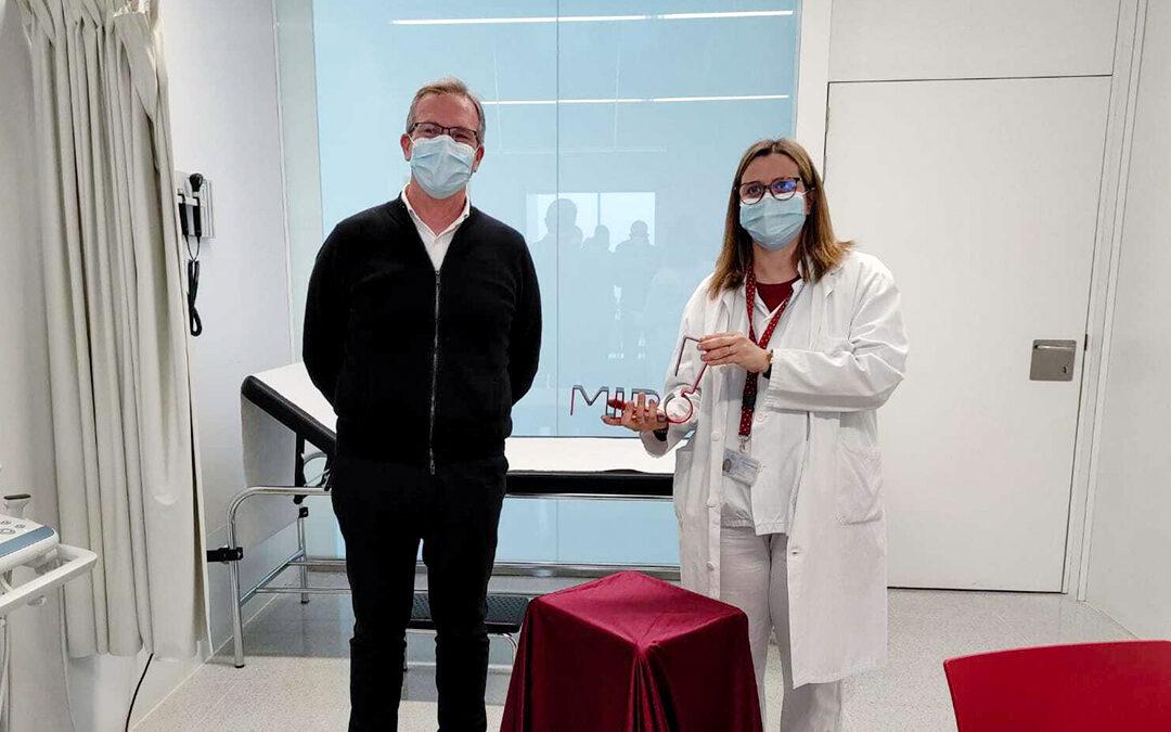 Vermuts Miró entrega el guardó Premi Especial Etiqueta Negra a tot el col·lectiu sanitari per la seva immesurable lluita
