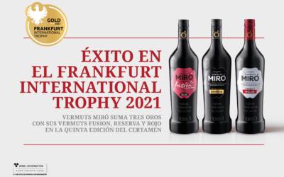 Vermuts Miró suma tres ors al Frankfurt International Trophy 2021