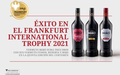 Vermuts Miró suma tres oros en el Frankfurt International Trophy 2021