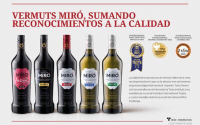 Vermuts Miró, l'únic vermut espanyol guanyador de 4 medalles a l'International Wine Challenge