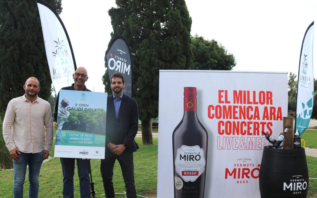 El 2o OPEN Gaudí Golf Ciutat de Reus- Vermuts Miró, aspira a convertirse en el torneo amateur más importante de la provincia